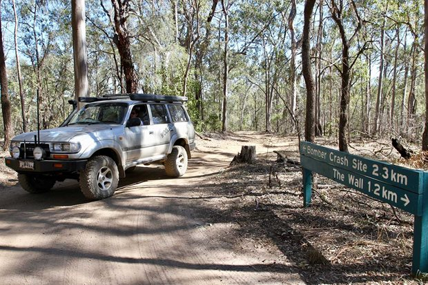 Kroombit Tops national park 4x4 travel guide
