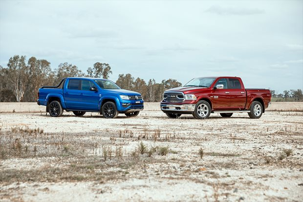 Can the best dual-cab you can buy beat an American pick-up?