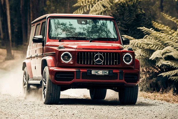 Mercedes-Benz AMG G63 off-road