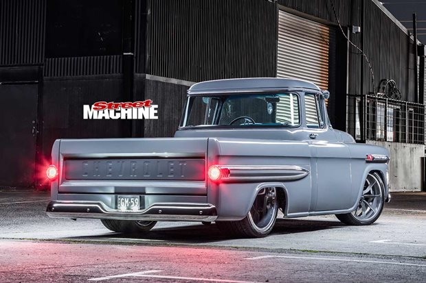 1959 Chevrolet Apache Fleetside rear