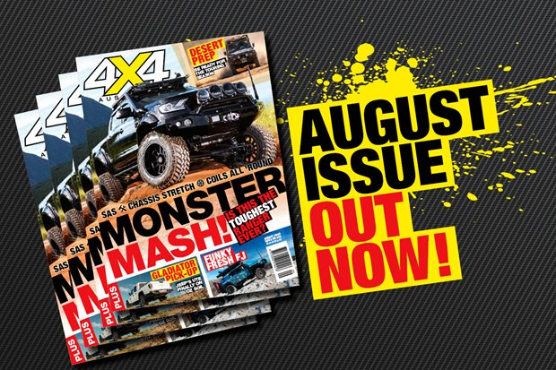 Cracking August 2020 issue of 4X4 Australia is out now