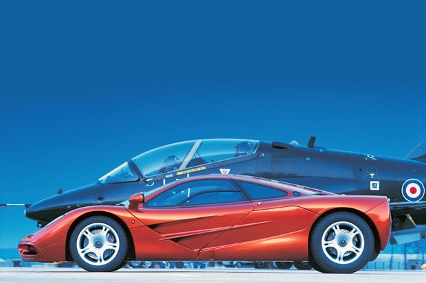 The McLaren F1 had two secret downforce fans. Who knew?