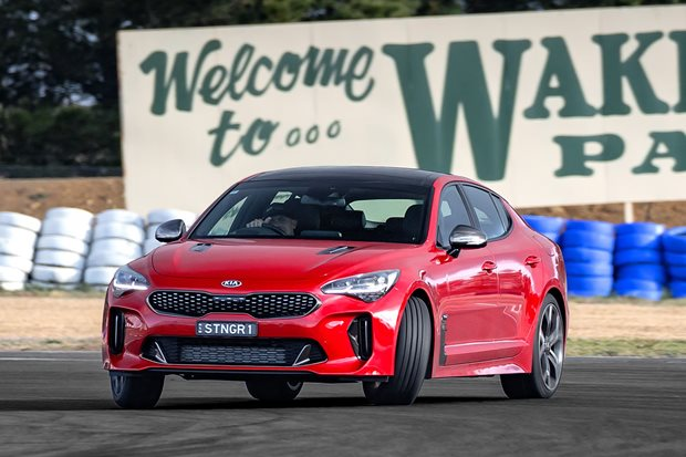 Here's everything we know so far about Kia's more powerful Stinger