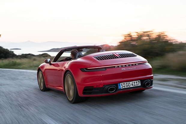2020 Porsche 911 Carrera 4S Cabriolet review.
