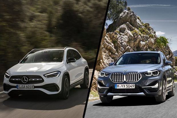 2021 Mercedes-Benz GLA vs BMW X1 spec comparison