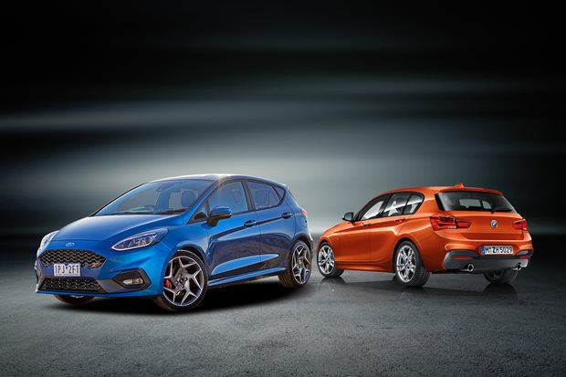 Ford Fiesta ST vs BMW M135i