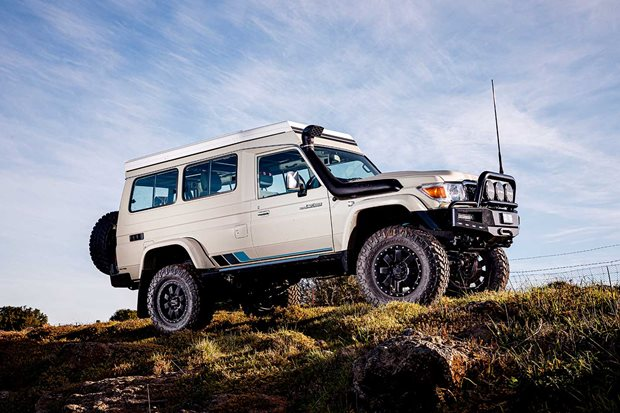 Custom Toyota LandCruiser Troop Carrier