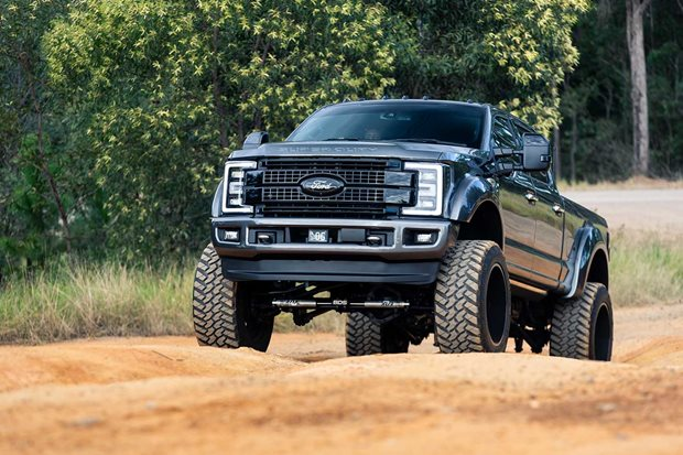 Game-changing Ford F250