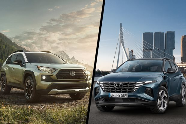 2021 Hyundai Tucson vs Toyota RAV4 compared