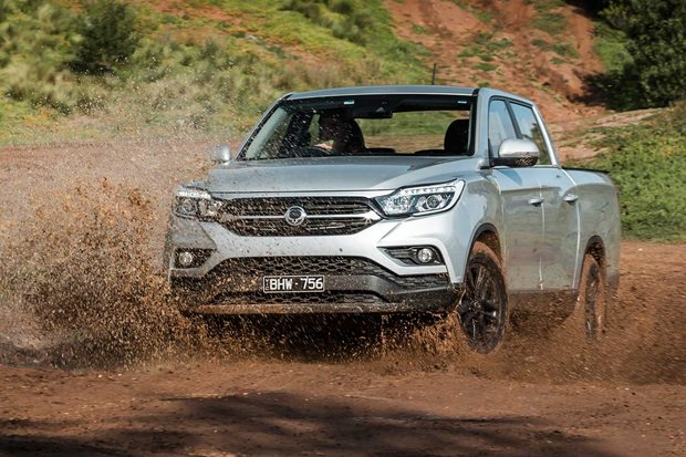 2020 SsangYong Musso XLV Ultimate mud