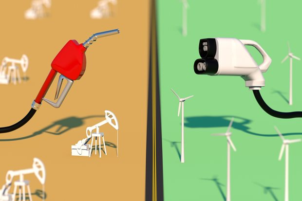 oil companies and electric vehicles
