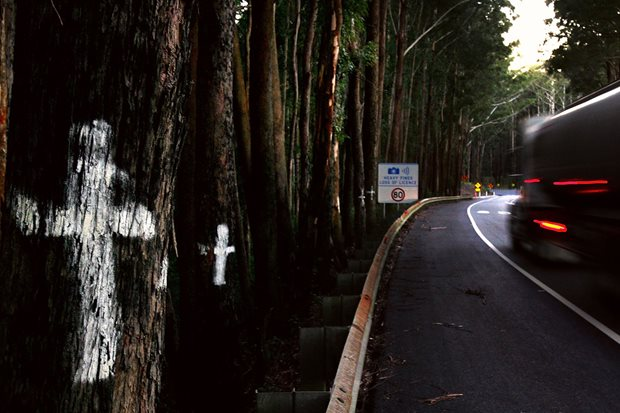 roadside memorial pacific highway