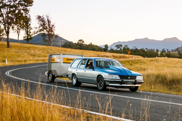 Ben Vlekken's turbo LS VH Commodore wagon