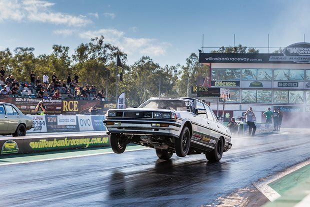 Eight-second, turbo Barra-powered Toyota Cresta ready for Drag...