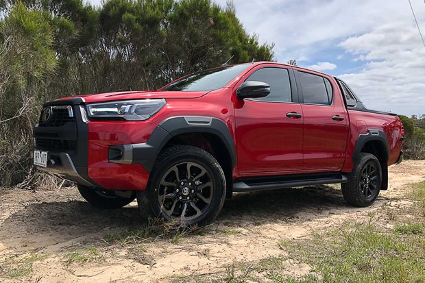 toyota hilux rogue
