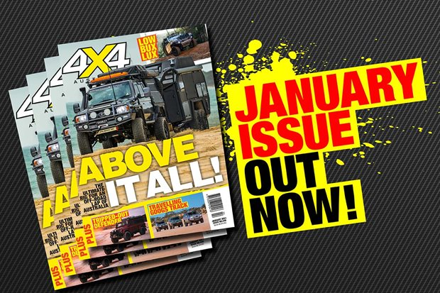 4X4 Australia's January 2021 edition is out now!