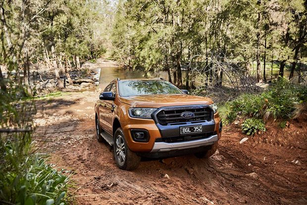 Ford Ranger was the best-selling 4x4 in 2020