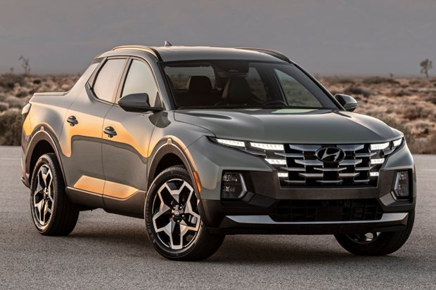 Hyundai Santa Cruz compact pick-up truck revealed