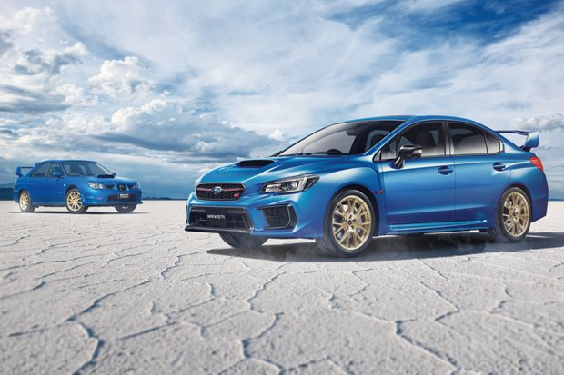 Subaru WRX STI EJ25 Final Edition revealed