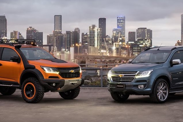 Holden Colorado range facelifts previewed by Aussie-designed concepts