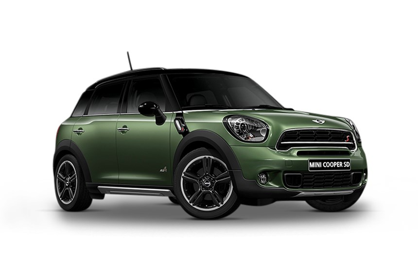 2017 Mini Countryman Cooper Sd All4 2 0l 4cyl Diesel