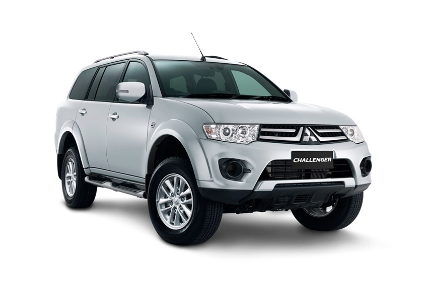 mitsubishi challenger   cyl diesel turbocharged automatic suv