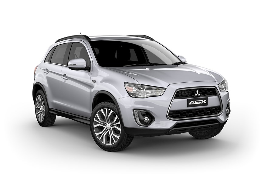 2016 mitsubishi asx ls 2wd 2 0l 4cyl petrol manual suv. Black Bedroom Furniture Sets. Home Design Ideas