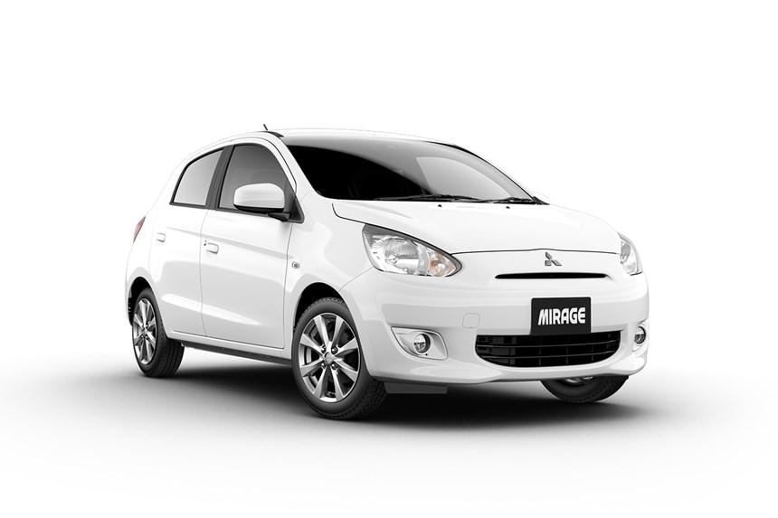2016 mitsubishi mirage ls, 1.2l 3cyl petrol manual, hatchback