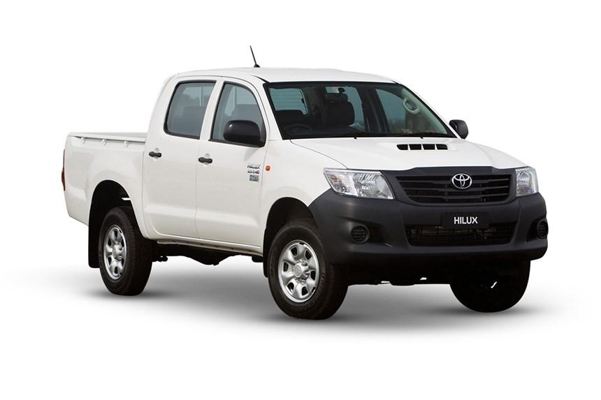 2017 Toyota Hilux Workmate 4x4 2 4l 4cyl Diesel