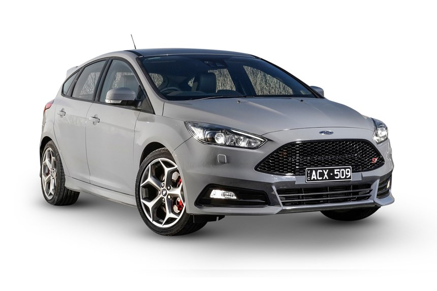 2018 ford focus st2, 2.0l 4cyl petrol turbocharged manual, hatchback