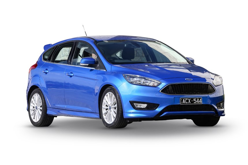 2018 ford focus sport, 1.5l 4cyl petrol turbocharged automatic