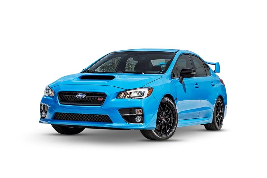 2016 Subaru Wrx Premium Hyper Blue Awd 2 0l 4cyl Petrol
