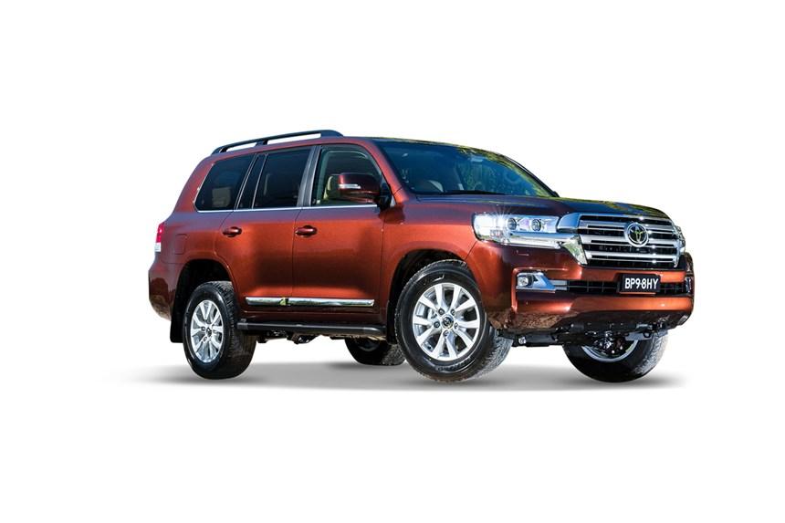 2018 Toyota LandCruiser Sahara (4x4), 4.5L 8cyl Diesel ...