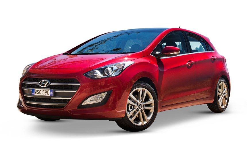 Hyundai i30 active x colours