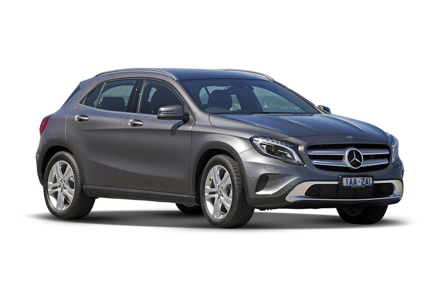 2016 mercedes benz gla180 1 6l 4cyl petrol turbocharged automatic suv. Black Bedroom Furniture Sets. Home Design Ideas