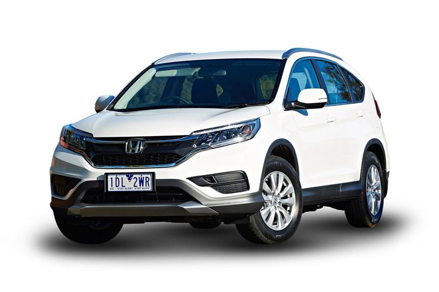 2017 Honda Cr-V VTi (4x2), 2.0L 4cyl Petrol Manual, SUV