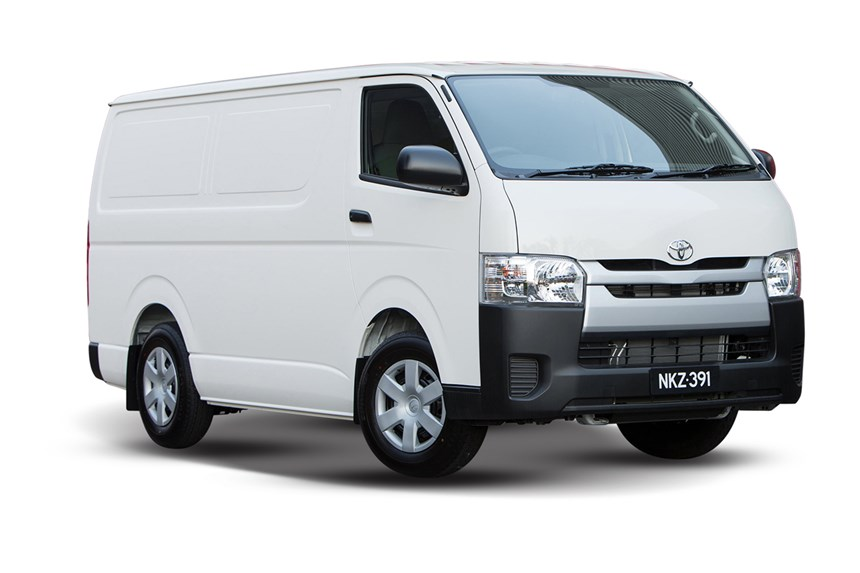 2018 Toyota Hiace LWB, 2.7L 4cyl Petrol Manual, Van