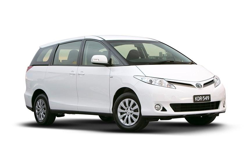 2018 Toyota Tarago Gli V6 3 5l 6cyl Petrol Automatic