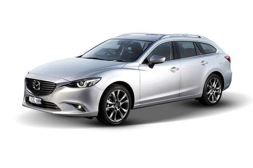 2018 Mazda 6 Touring Automatic 2.2L 4D Wagon