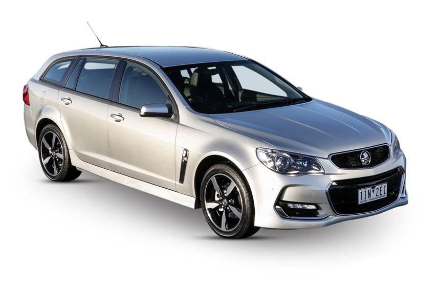 2017 Holden Commodore Evoke, 3.0L 6cyl Petrol Automatic, Wagon