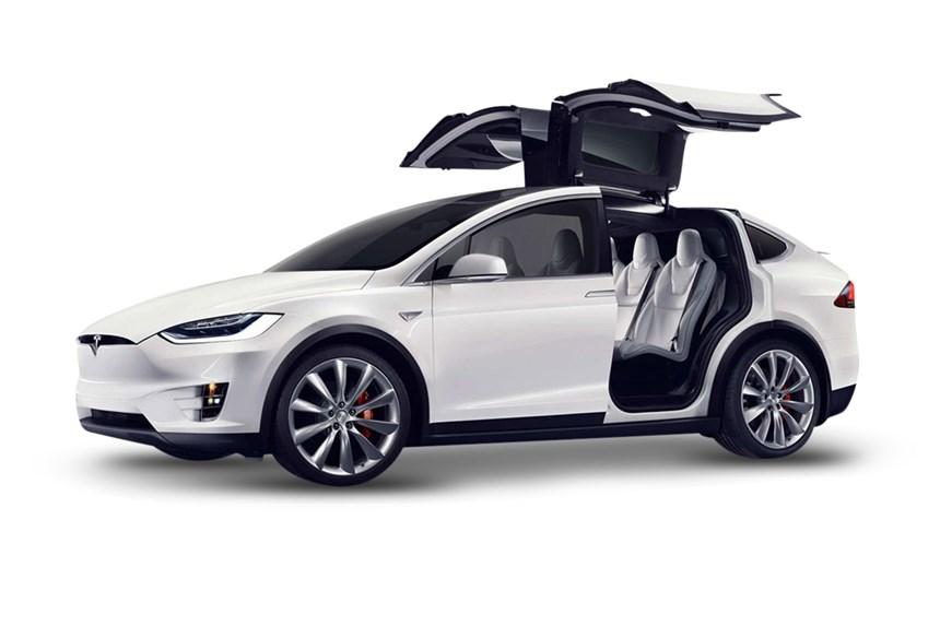 2017 tesla model x 75d electric automatic suv. Black Bedroom Furniture Sets. Home Design Ideas