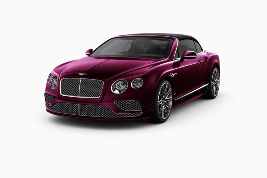 2018 Bentley Continental GT Speed Automatic 6.0L 2D Convertible