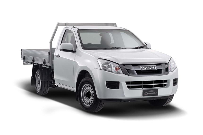 2018 Isuzu D-MAX SX (4x4), 3.0L 4cyl Diesel Turbocharged ...