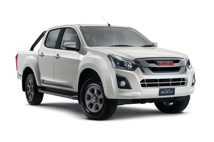 2018 isuzu d max x runner 4x4 pearl white 3 0l 4cyl diesel turbocharged automatic ute. Black Bedroom Furniture Sets. Home Design Ideas