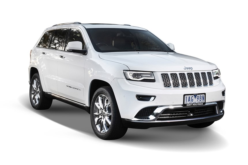 2017 Jeep Grand Cherokee Overland 4x4 30l 6cyl Diesel