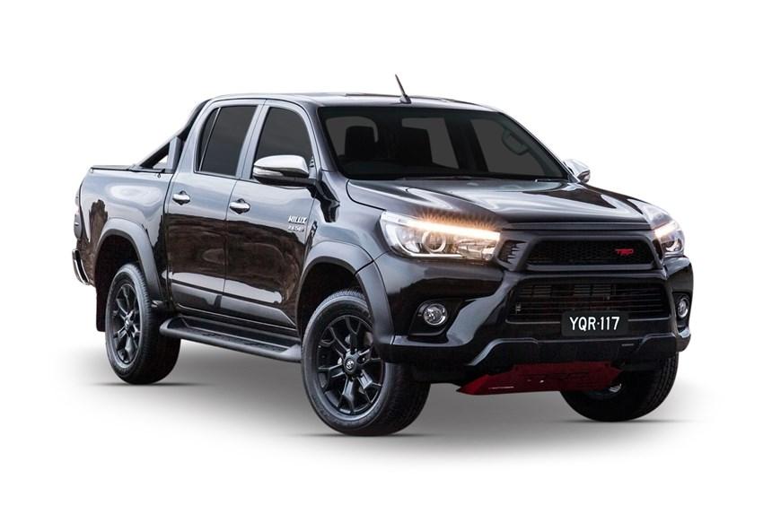 2017 Toyota Hilux Trd Black 4x4 2 8l 4cyl Diesel