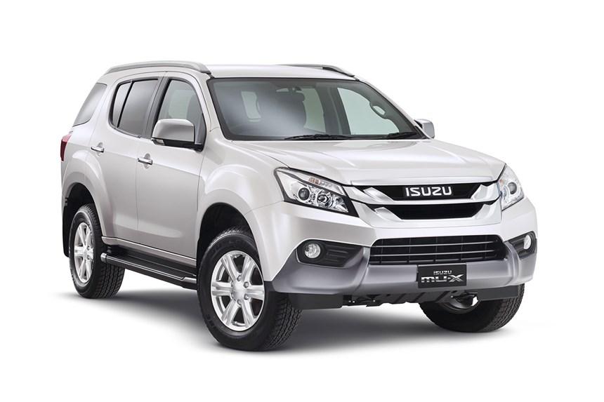 2018 Isuzu Mu X Ls T 4x4 3 0l 4cyl Diesel Turbocharged Automatic Suv