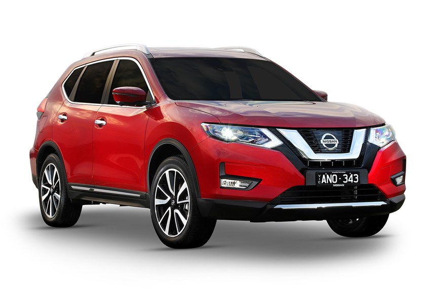 2018 nissan x trail st 7 seat 2wd 2 5l 4cyl petrol automatic suv. Black Bedroom Furniture Sets. Home Design Ideas