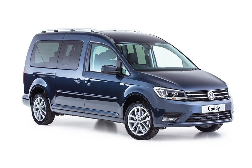 abbastanza 2017 Volkswagen Caddy Maxi Crewvan TDI250, 2.0L 4cyl Diesel  AC49