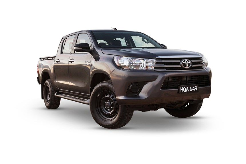 2018 Toyota Hilux Sr 4x4 2 8l 4cyl Diesel Turbocharged Manual Ute